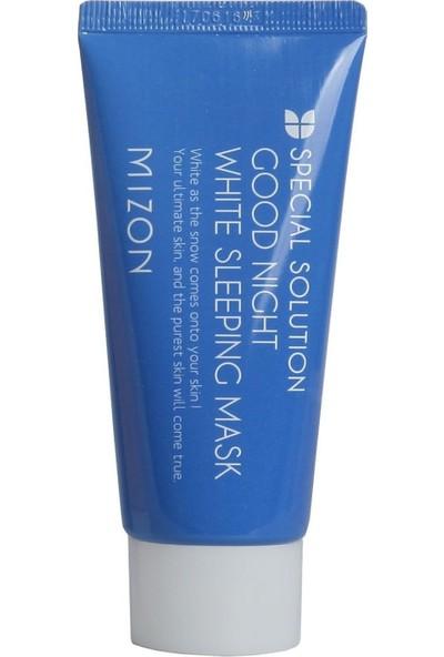 Mizon Good Night White Sleeping Mask Tube - Cilt Beyazlatıcı Krem Gece Maskesi Tüp
