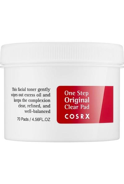 Cosrx One Step Original Clear Pad - Yüz Vücut Sivilceleri İçin Sivilce Temizleme Pedi