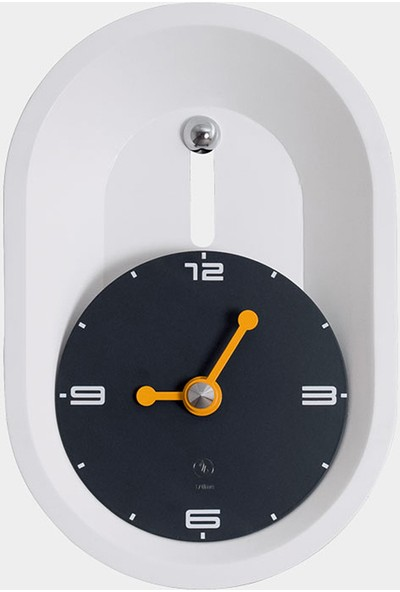 Sy Time Aspendos 30*45 Duvar Saati Beyaz
