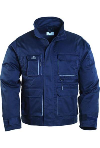 Coverguard Navy Paddock Ceket Teknik İş Ceketi 8NAVV