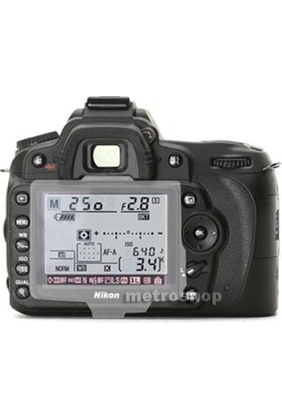 Nikon D90 İçin Bm-10 Lcd Ekran Koruyucu Kapak