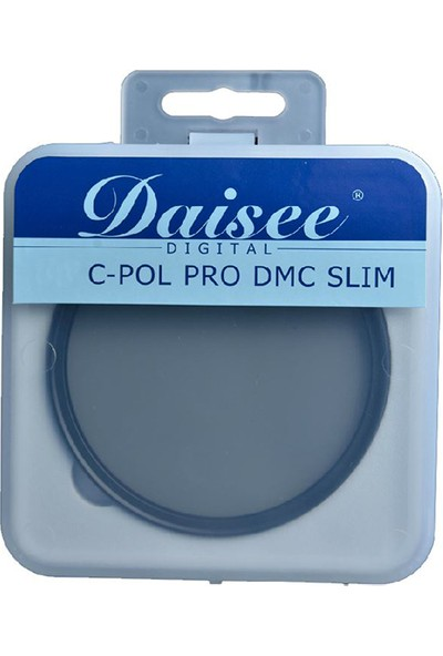 Daisee 52Mm C-Pol Pro Dmc Slim Cpl Circular Polarize Filtre