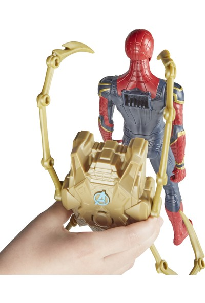 Avengers Infinity War Titan Hero Power Fx Spider-Man Figür