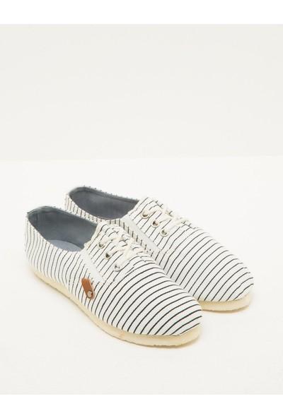 Koton Çizgili Ayakkabı