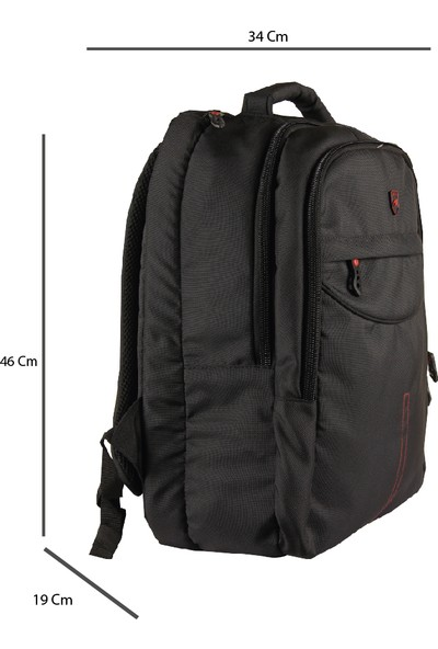 Alone Çanta 15.6 Laptop Bölmeli Notebook Sırt Çantası