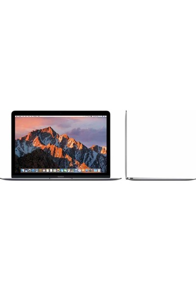 "Apple MacBook Intel Core i5 7Y54 8GB 512GB SSD macOS X 12"" QHD Taşınabilir Bilgisayar MNYG2TU/A - Gri"