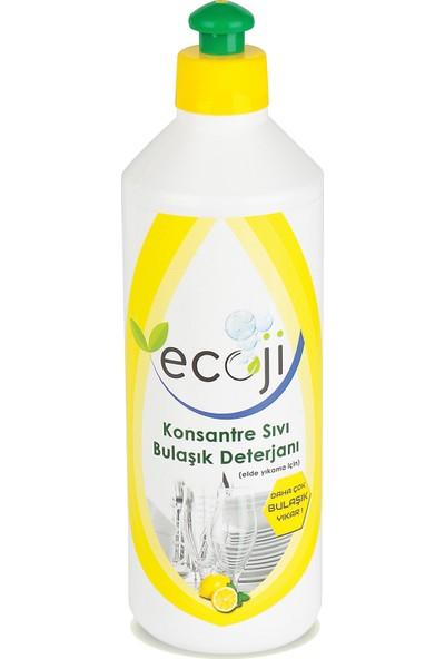 Ecoji Konsantre Sıvı Bulaşık Deterjanı 500 ml