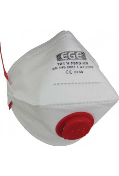 Ege 701V Ffp3 Toz Maskesi 10'Lu