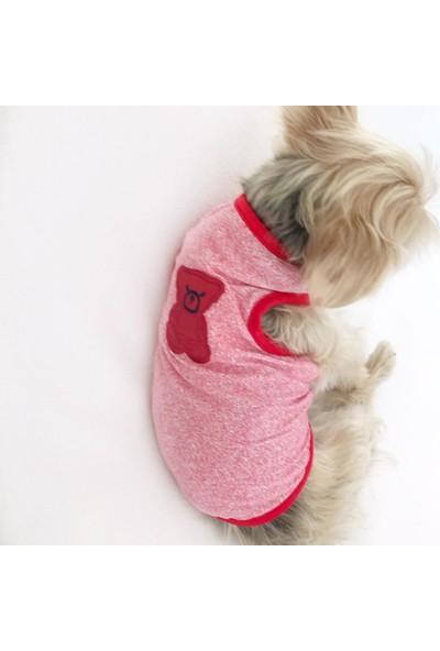 Kemique Red Teddy Atlet By Köpek Kıyafeti Köpek Elbisesi