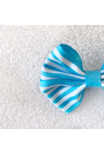 Kemique Toka By Stripe Serisi Mavi Köpek Tokası