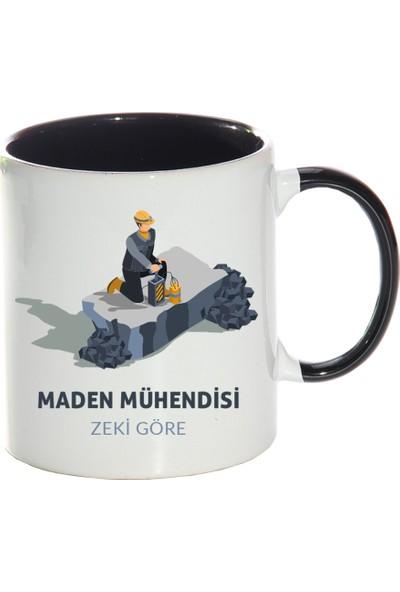 Kişiye Özel Maden Mühendisi Sihirli Kupa Bardak - tk6535