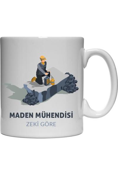 Kişiye Özel Maden Mühendisi Kupa Bardak - tk6535