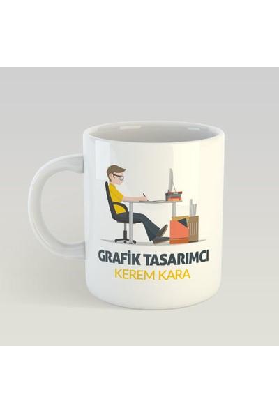 Kişiye Özel Grafik Tasarımcı Kupa Bardak - tk4183