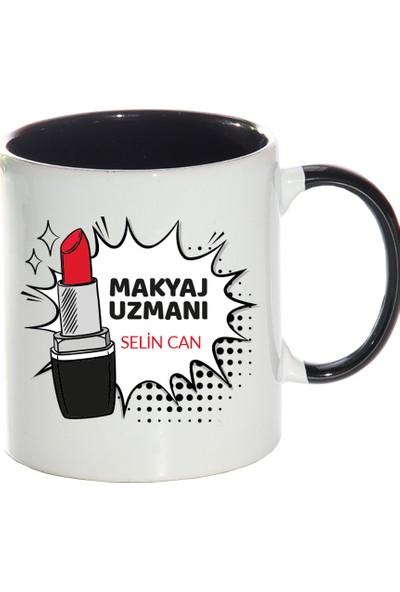 Kişiye Özel Makyaj Uzmanı Sihirli Kupa Bardak - tk4395