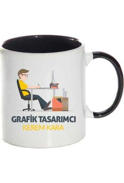 Kişiye Özel Grafik Tasarımcı Sihirli Kupa Bardak - tk4183