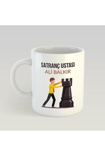 Kişiye Özel Satranç Ustası Kupa Bardak - tk0697