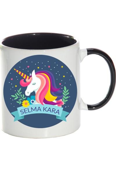 Kişiye Özel Unicorn Tasarımlı Sihirli Kupa Bardak - tk9578