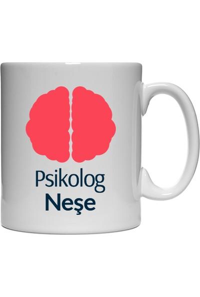 Kişiye Özel Psikolog Tasarımlı Kupa Bardak - tk9547