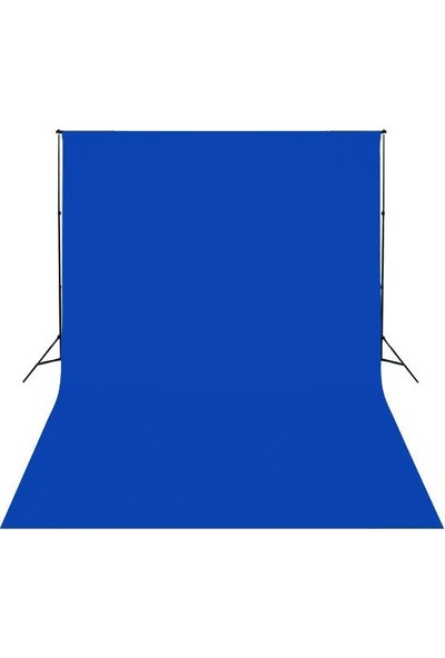 Fotexon 3X6 Mavi Fon Perdesi