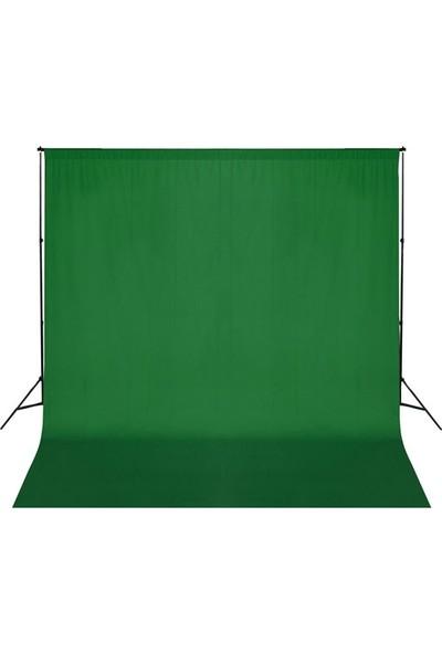 Fotexon Greenbox Chromakey- Green Screen- 3X6 Yeşil Fon Perdesi