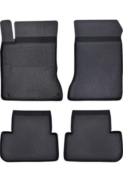 Image Premium 4D Mercedes CLA Sedan 2013 ve Sonrası Lüks Kauçuk Paspas 4 Parça