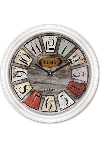 Cadran Luxury Dekoratif Camlı Duvar Saati CDX063