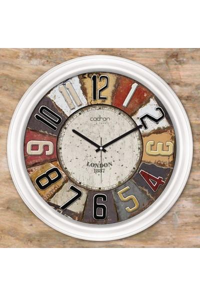 Cadran Luxury Dekoratif Camlı Duvar Saati CDX080