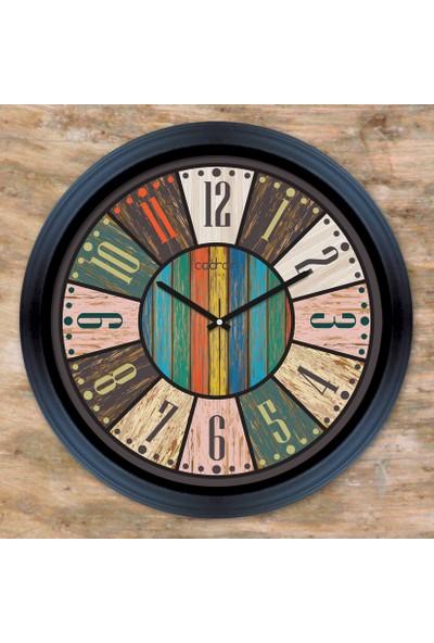 Cadran Luxury Dekoratif Camlı Duvar Saati CDX095