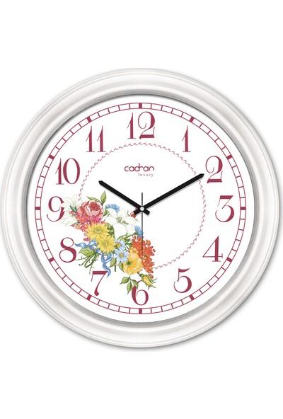 Cadran Luxury Dekoratif Camlı Duvar Saati CDX112