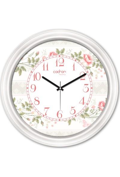 Cadran Luxury Dekoratif Camlı Duvar Saati CDX121