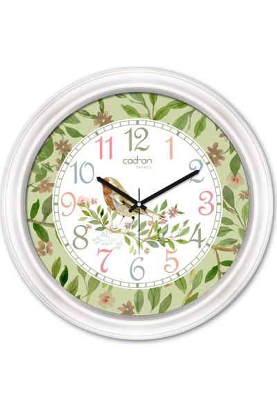 Cadran Luxury Dekoratif Camlı Duvar Saati CDX138