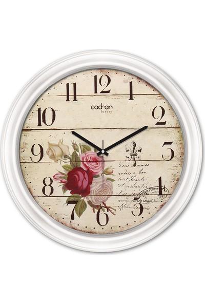 Cadran Luxury Dekoratif Camlı Duvar Saati CDX156