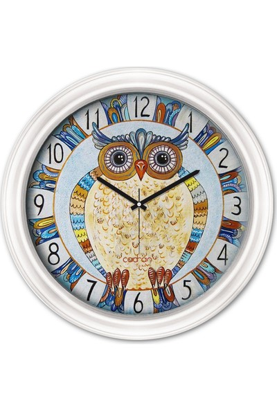 Cadran Luxury Dekoratif Camlı Duvar Saati CDX158