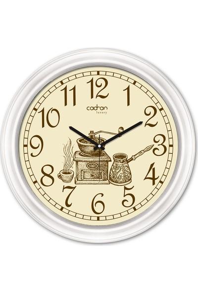 Cadran Luxury Dekoratif Camlı Duvar Saati CDX160