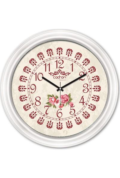 Cadran Luxury Dekoratif Camlı Duvar Saati CDX165