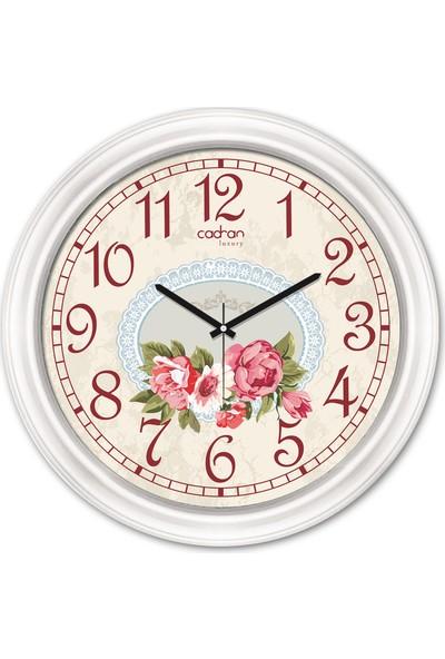 Cadran Luxury Dekoratif Camlı Duvar Saati CDX166