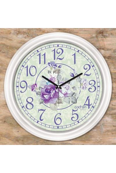 Cadran Luxury Dekoratif Camlı Duvar Saati CDX167
