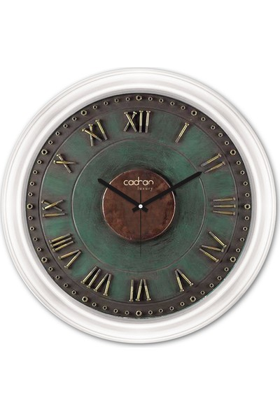 Cadran Luxury Dekoratif Camlı Duvar Saati CDX232