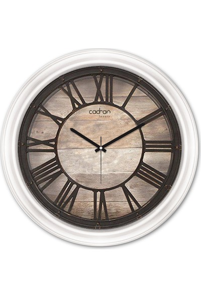 Cadran Luxury Dekoratif Camlı Duvar Saati CDX237