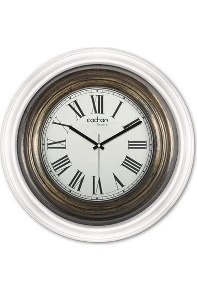 Cadran Luxury Dekoratif Camlı Duvar Saati CDX249