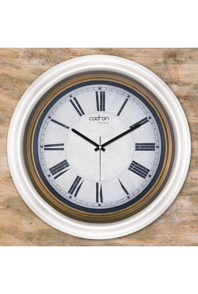 Cadran Luxury Dekoratif Camlı Duvar Saati CDX272