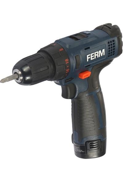 FERM Power CDM1126 Akülü Lı-Ion Matkap - 10,8V - 1,5Ah