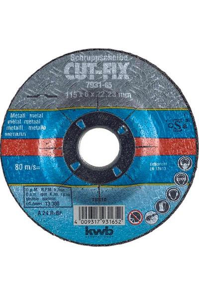 Kwb CutFix Metal Taşlama Diski 115mm