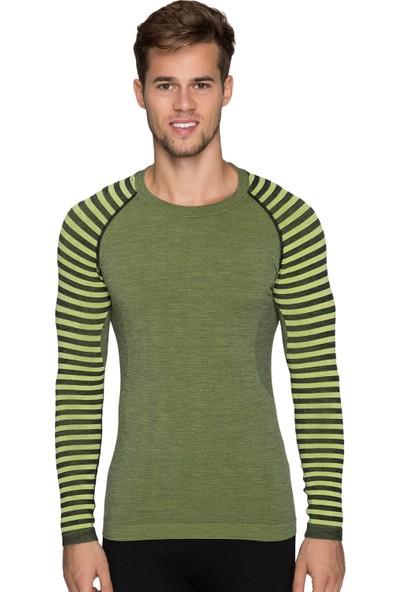 Thermoform Ultimate Merino Erkek Seamless Termal Sweatshirt