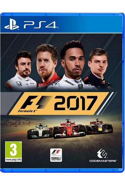 F1 Formula 2017 PS4 Oyun