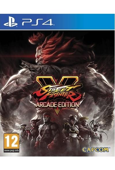 Street Fighter V Arcade Edition PS4 Oyun