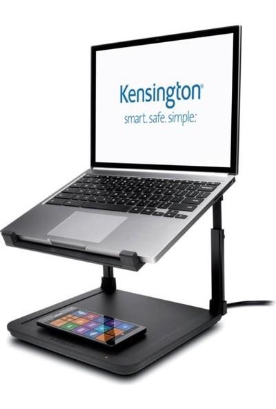 Kensington Smartfit® Kablosuz Telefon Şarj Pedli Laptop Yükseltici K52784WW