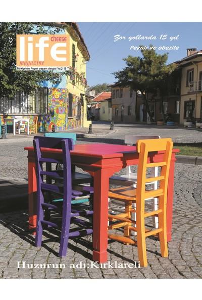 Cheese Life Magazine Dergisi Ekim-Kasım-Aralık 2017 sayısı