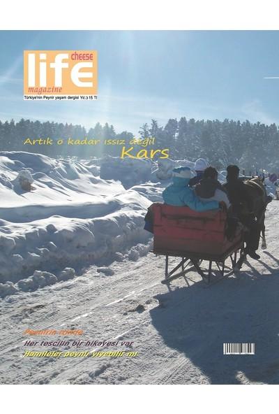Cheese Life Magazine Dergisi Ocak-Şubat-Mart 2018 sayısı