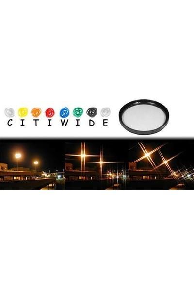 Citiwide Citiwide 52mm Star Point Yıldız 4 Noktalı Efekt Filtre